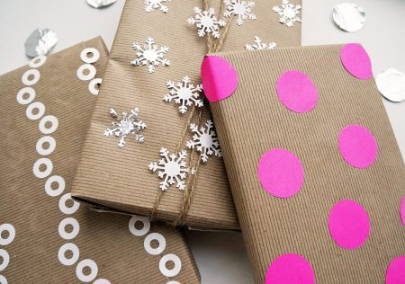 gift wrapping kraft paper
