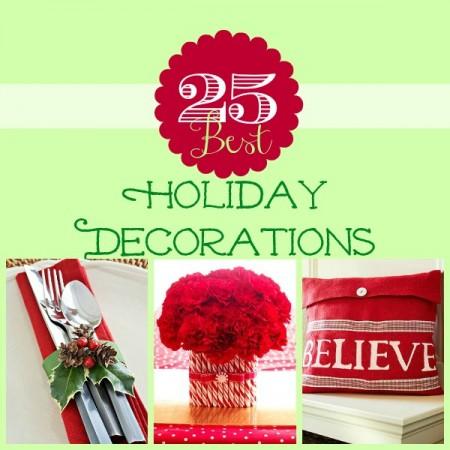 holiday decor 25 ideas