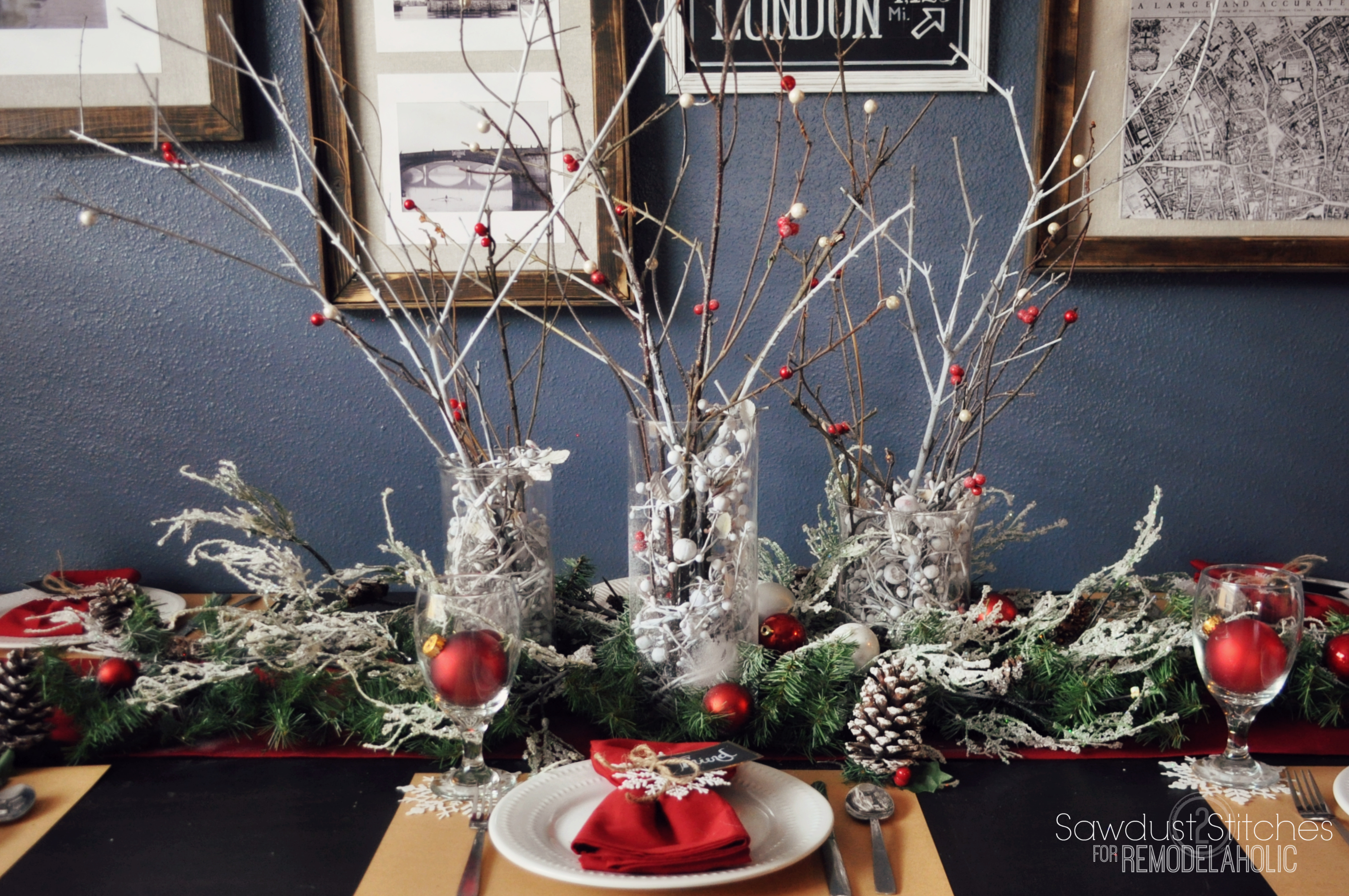 Step By Instructions For Creating A Beautiful Holiday Tablescape On Budget
