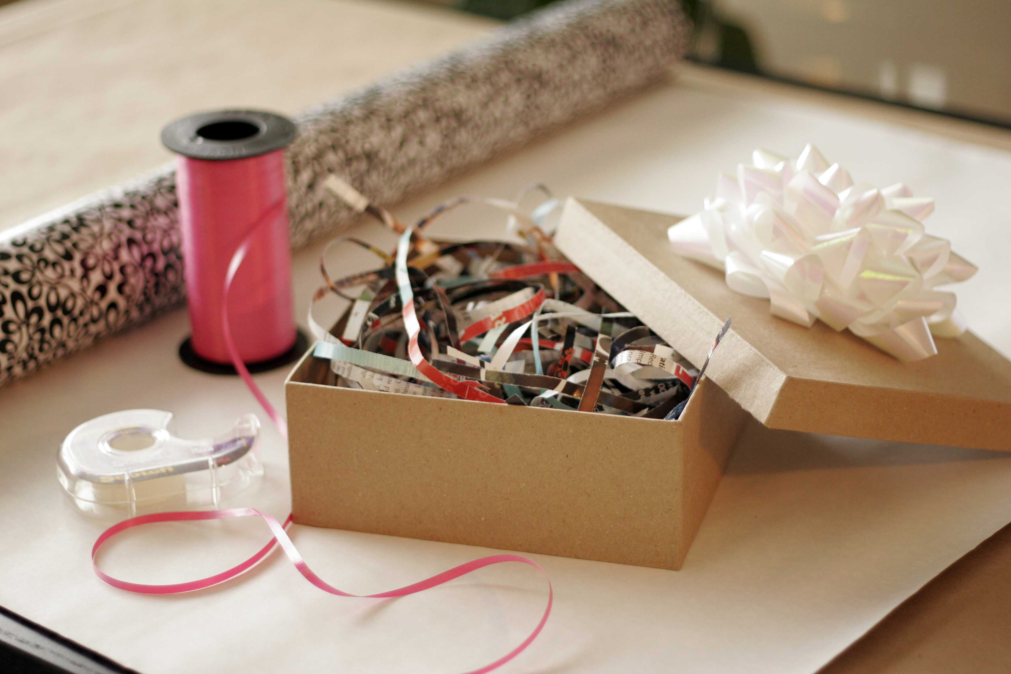 Remodelaholic | 25 Upcycled and Low-Cost Gift Wrapping Ideas