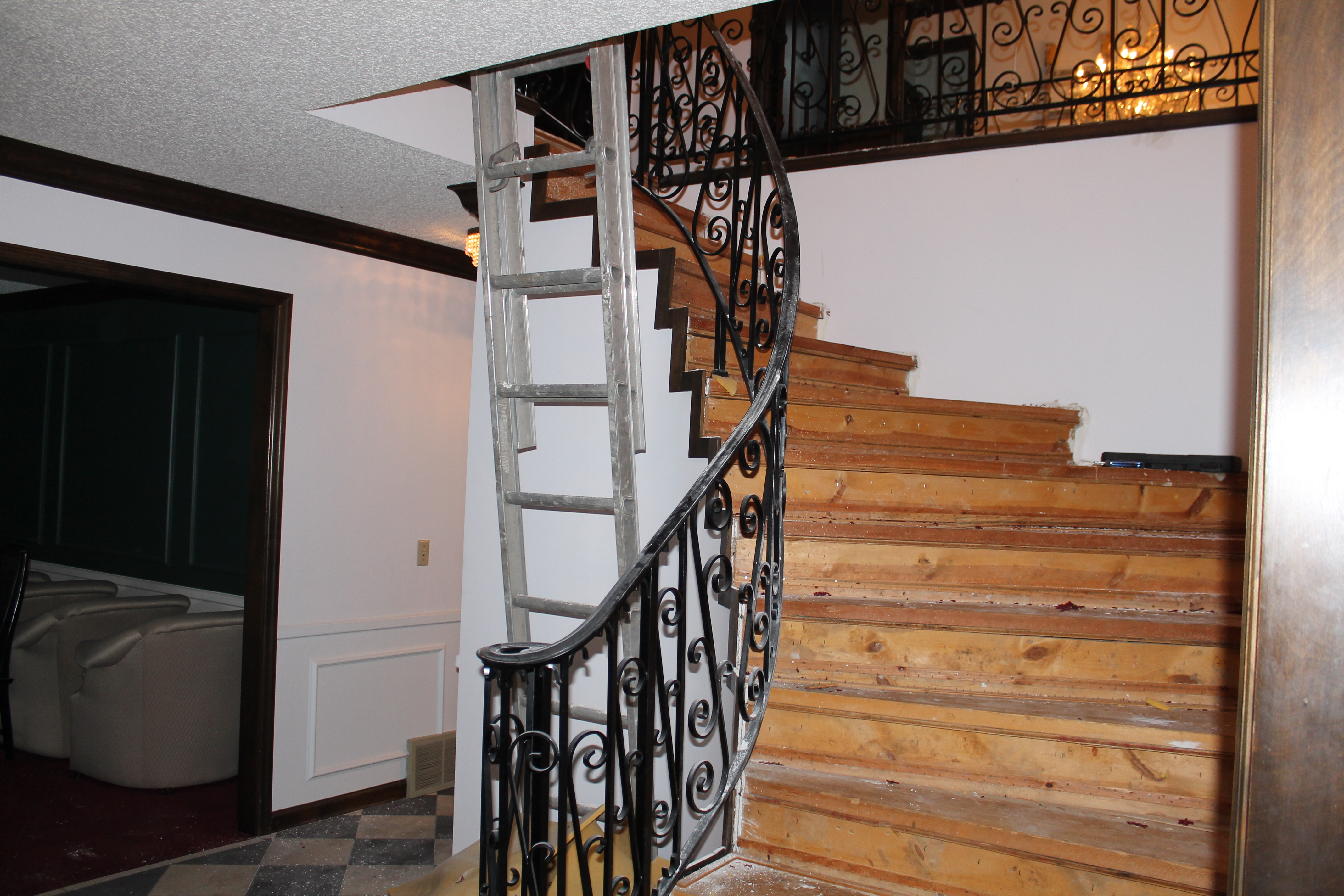 Superbe Staircase Remodel   Construction2Style Via @Remodelaholic