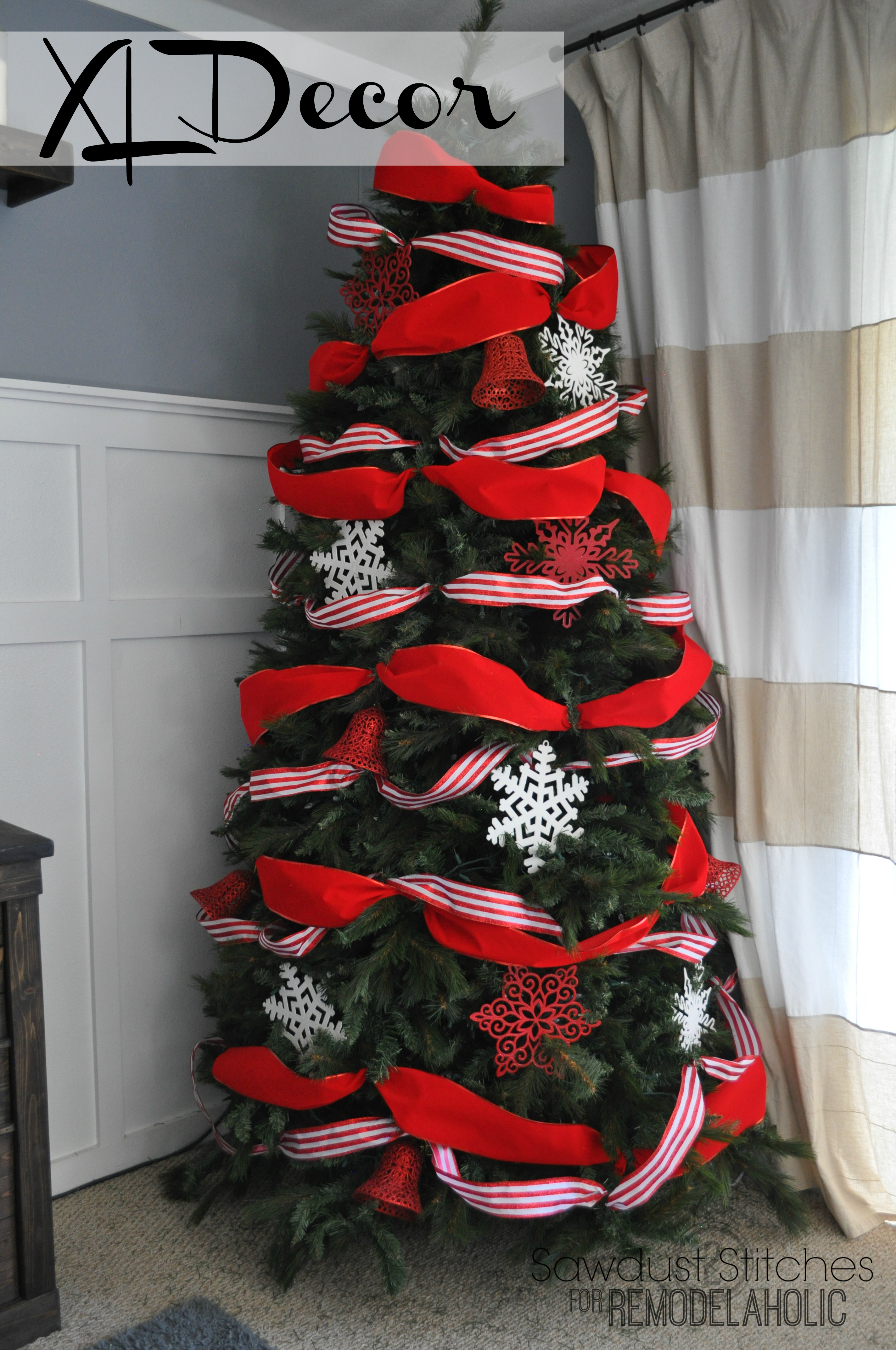 Remodelaholic | How to Decorate a Christmas Tree: A ...