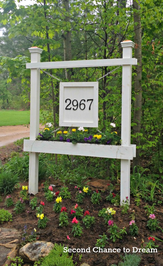Address Numbers On House Diy Curb Appeal