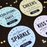 Free Printable New Year's Eve Party Drink Coasters