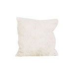 Hot Pink Christmas Faux Fur Pillow