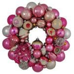 Hot Pink Christmas Pink Wreath