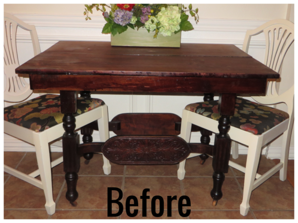 How To Refinish Wood Furniture, Before, By Beckwiths Treasures On Remodelaholic