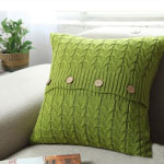 Modern Remodelaholic Xmas Green Pillow