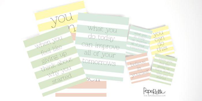 Free Motivational Prints 4-Pack