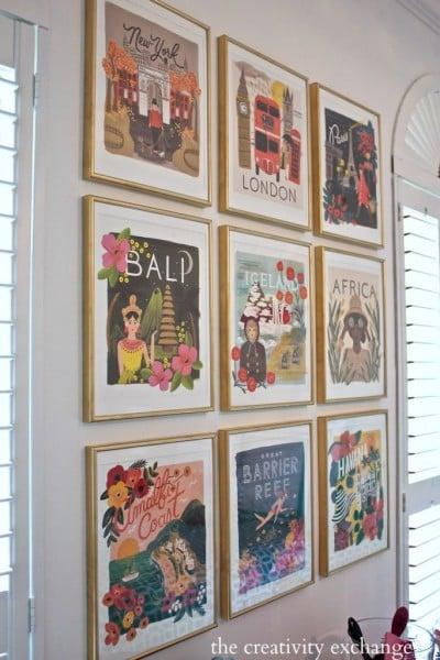Calendar Gallery Wall The creativity Exchange