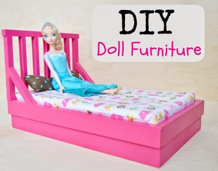 diy doll furniture - Kruse's Workshop via @Remodelaholic