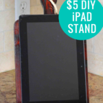 Easy $5 Diy IPad Stand Tablet Holder Plan And Template, HerToolbelt