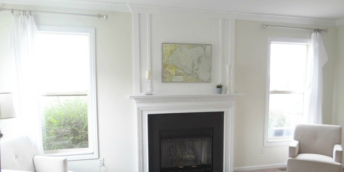 Remodelaholic | How to Add Woodwork Trim Above The ...