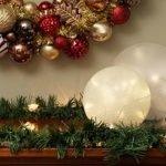 feature globe light winter luminaries by The Home Depot via @Remodelaholic