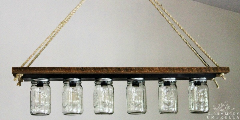 Remodelaholic Upcycle A Vanity Light Strip To A Hanging