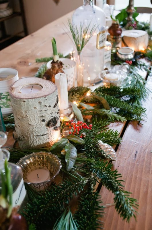 Remodelaholic ways to use fresh evergreen boughs