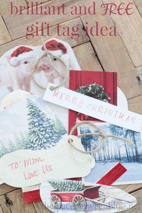 free gift tag idea
