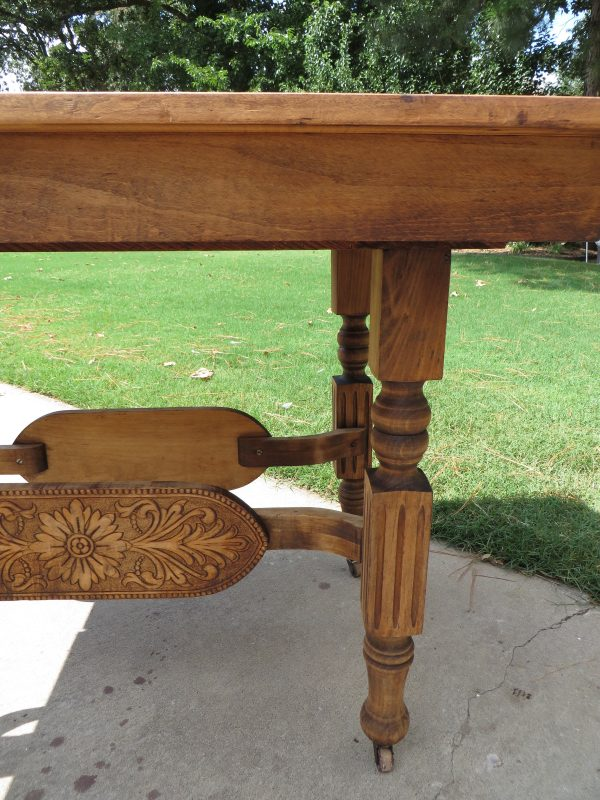 how to refinish carved wooden furniture treasures on stripped - Refinish Table