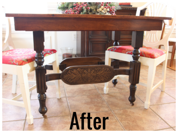 How To Refinish Wood Furniture, After, By Beckwiths Treasures On Remodelaholic