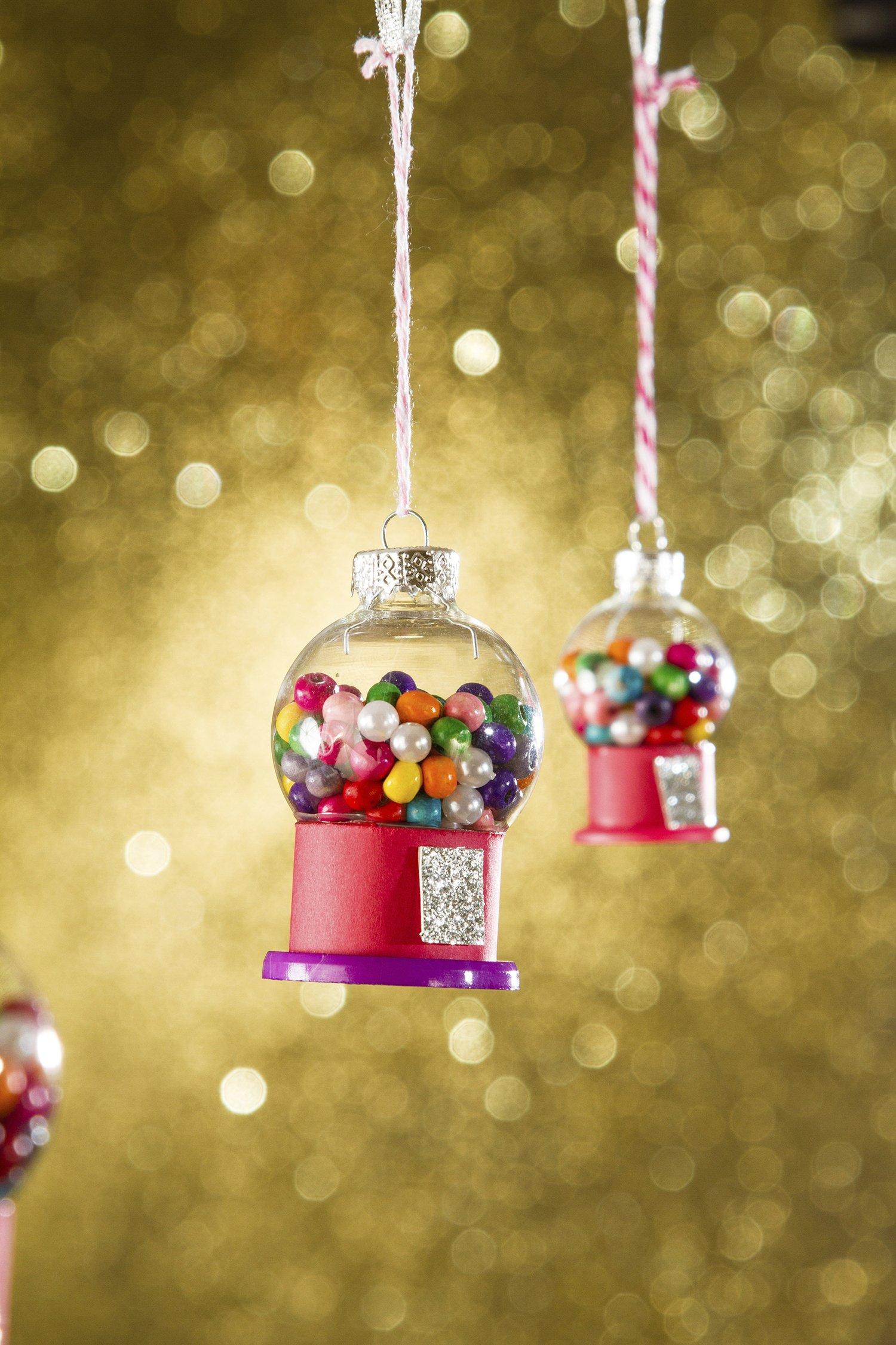 Petite Gumball Machine Ornaments