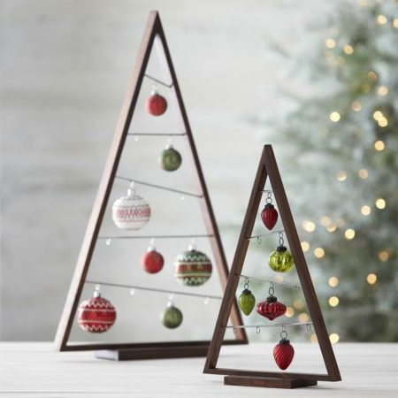 ornament display tree from crate and barrel