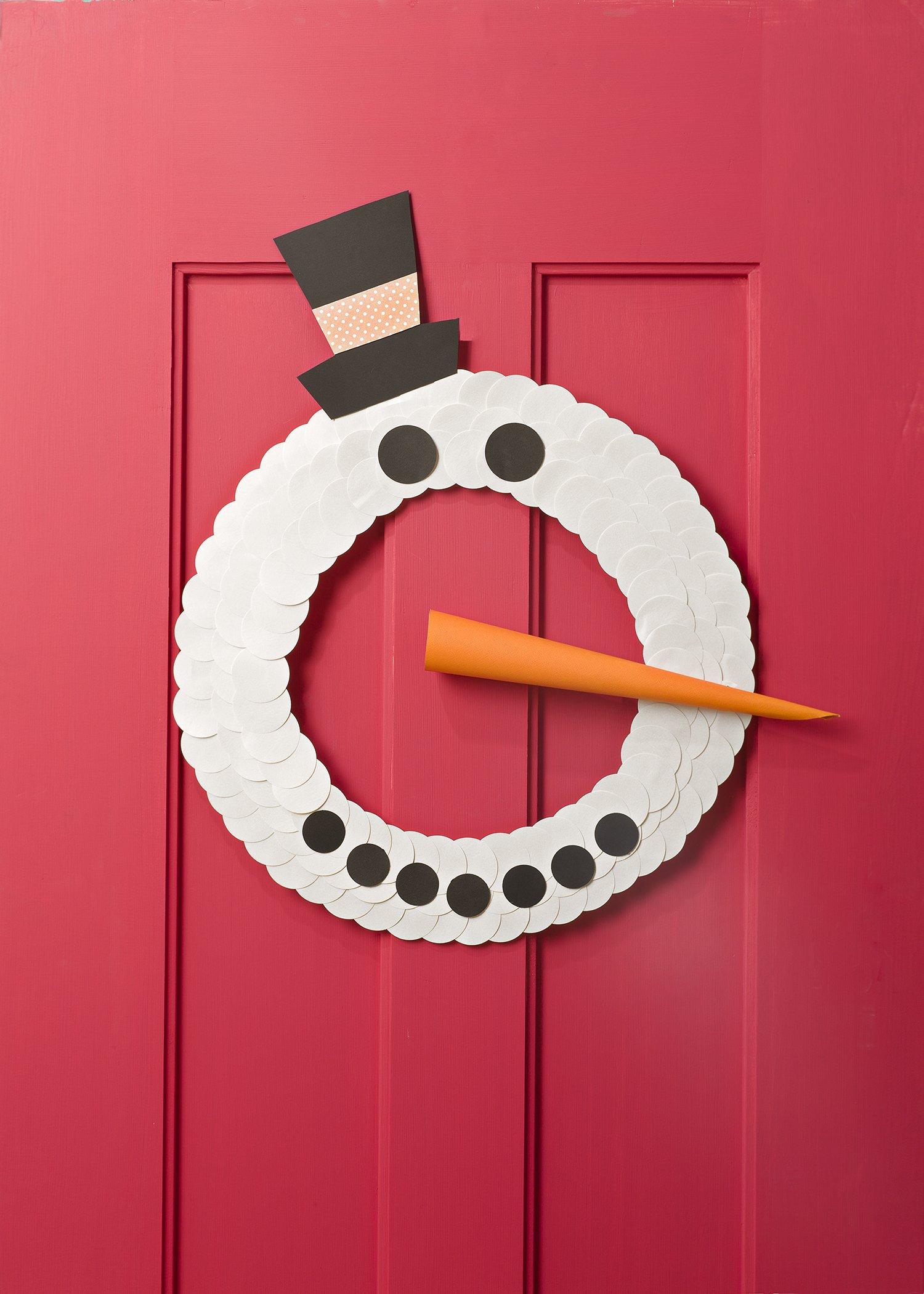 Stay Frosty Wreath
