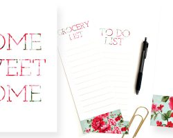 Floral Printables by Paperelli on Remodelaholic