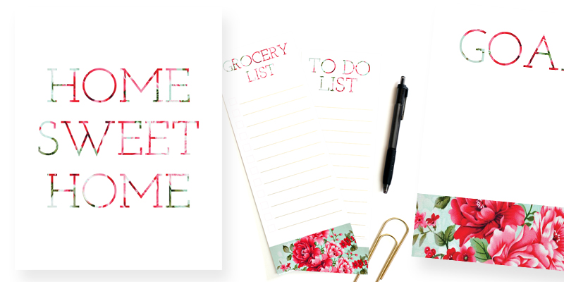 Free Floral Printable To Do List + More!