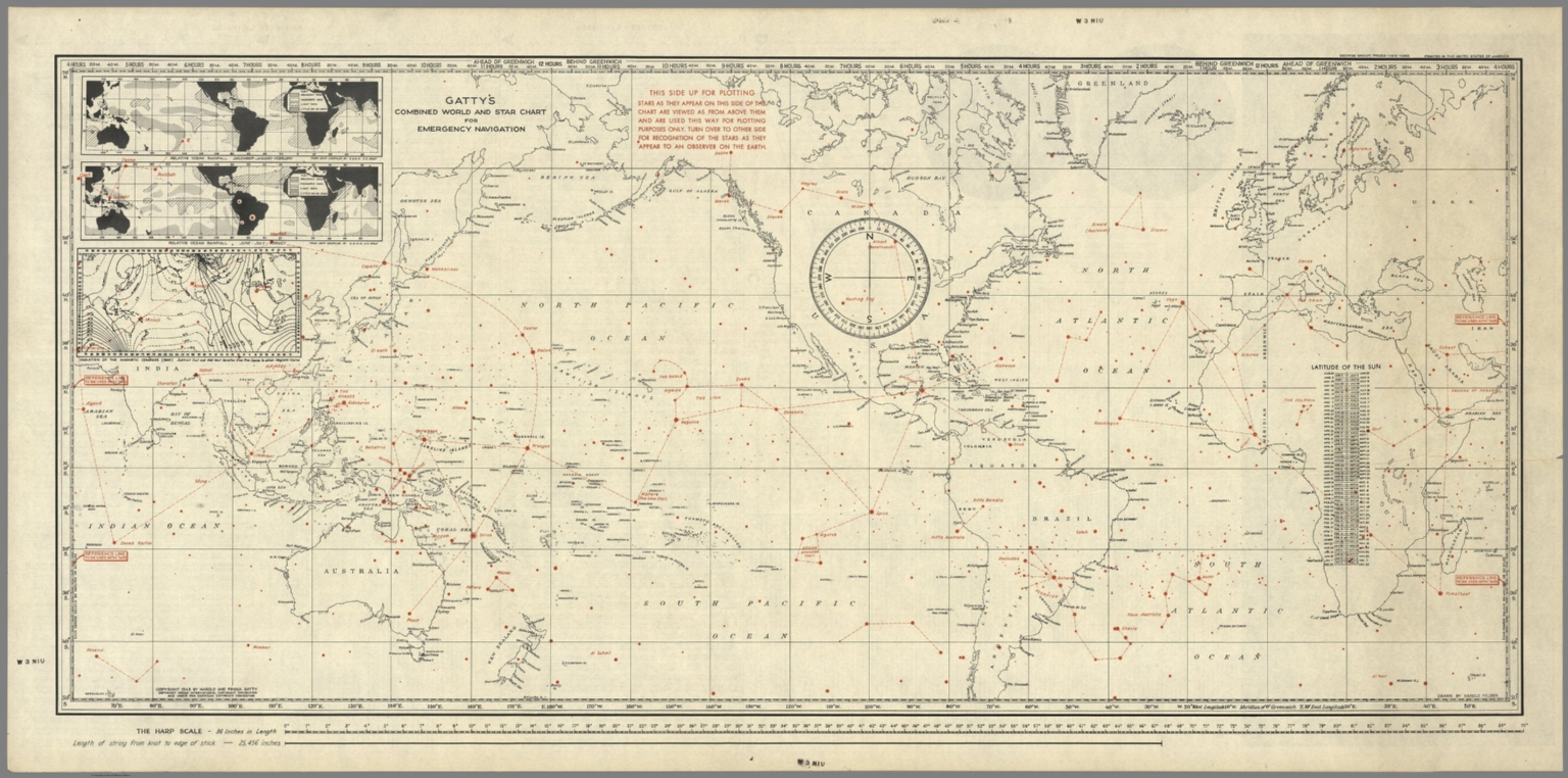 old navigational maps astronomy - photo #46