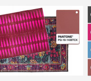 Working With Marsala – The Pantone Color of the Year in a Modern Office Space