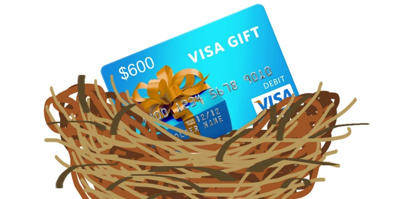 Nest Egg for the New Year! Win $600!