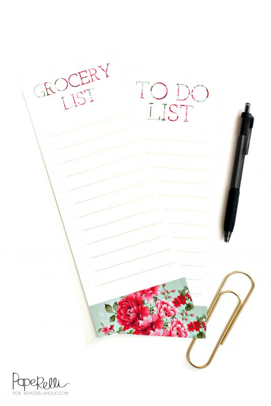 Organization Printables by Paperelli on @Remodelaholic
