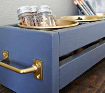 Build a Cheap and Easy Ikea Bucket Organizer