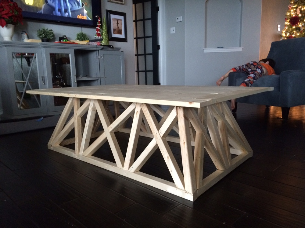 RH table assembled