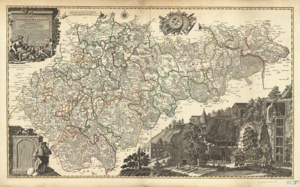 20 ingyenes vintage térkép nyomtatható kép |  Remodelaholic.com # art #printable #maps