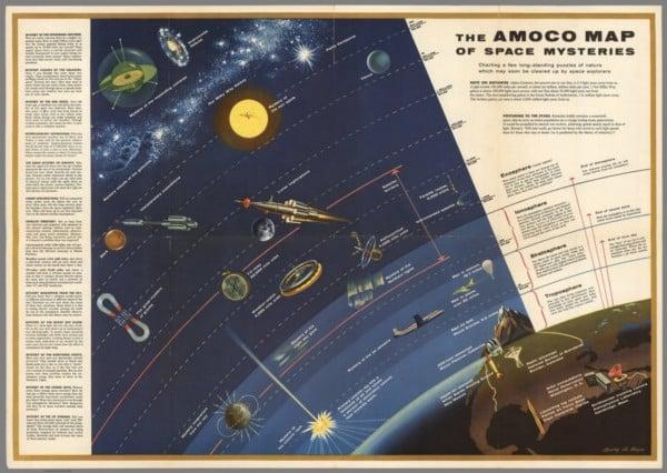 25+ Free Vintage Astronomy Printable Images | Remodelaholic.com #printable #art #astronomy