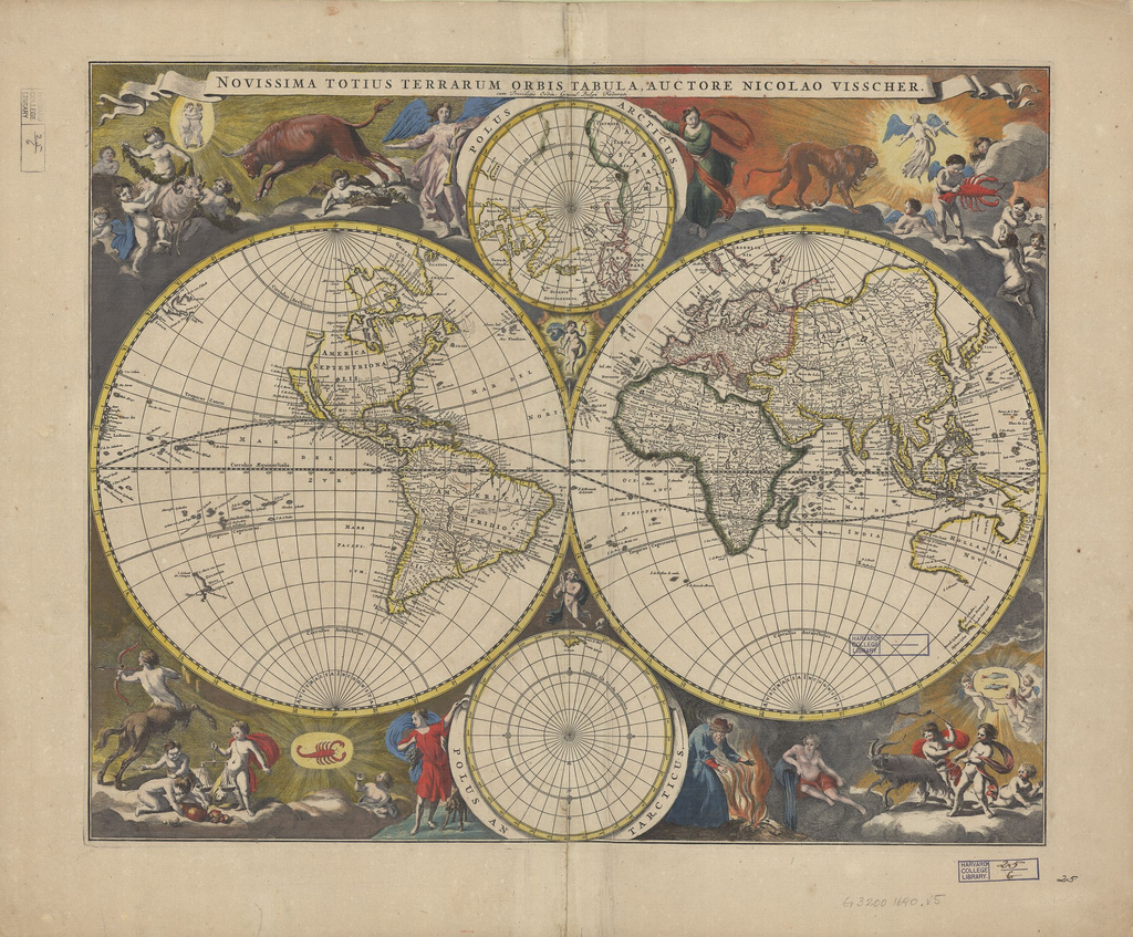 Revered image within printable vintage maps