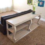 console table with scroll legs sq