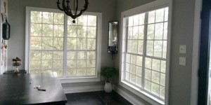 feature DIY window mullion grids - The Rozy Home featured on @Remodelaholic