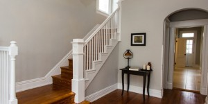 feature Inviting stairs and entry (Norwood) @remodelaholic