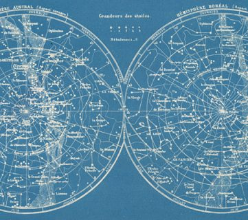25+ Free Vintage Astronomy Printable Images