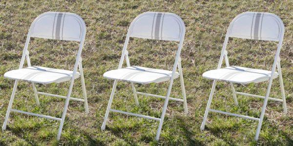 How to Paint a Folding Chair, Farmhouse Style