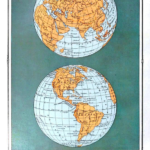 Free Printable Vintage Maps, From Remodelaholic