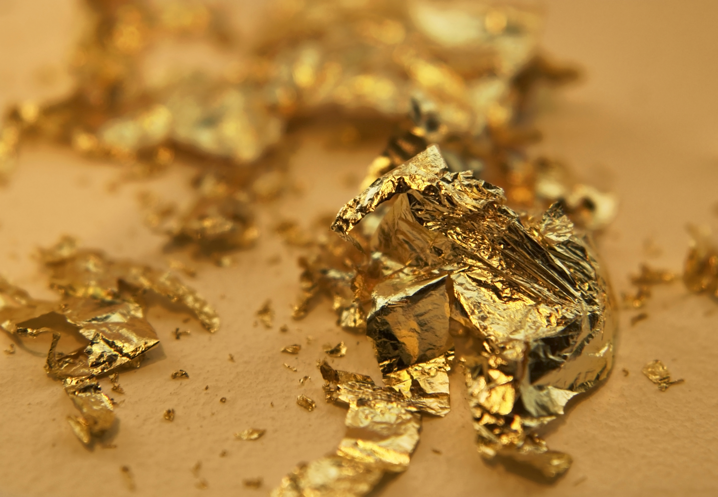 Remodelaholic Awesome Gold Leaf Diy Projects