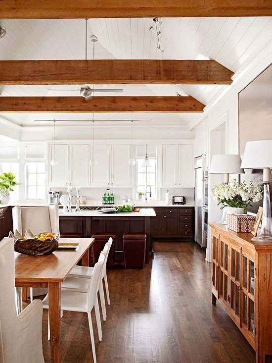 Remodelaholic How To Mix Wood Tones Like A Pro