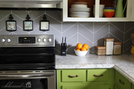 In Need Of A New Kitchen Backsplash But Don T Want To Spend Lot