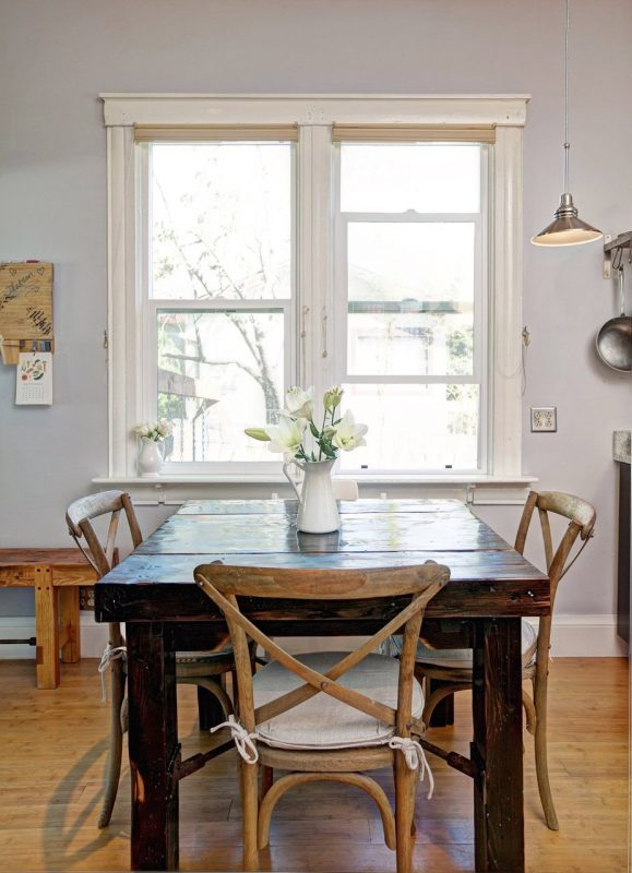 rustic table and chairs mixing wood tones remodelaholic article types woods
