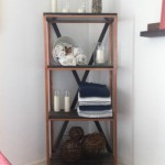 square copper shelf