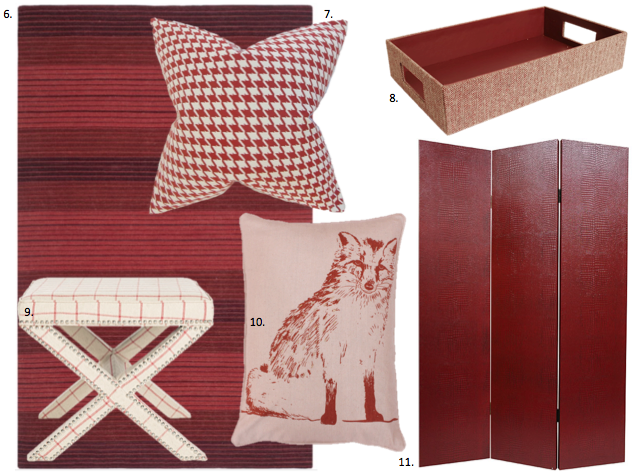 Decorating with Marvelous Marsala