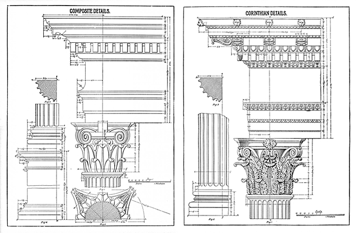 Architecture Blueprints Art remodelaholic | 20+ free vintage printable blueprints and diagrams